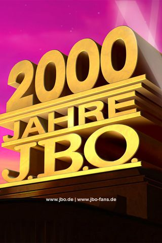 "Wallpaper ""2000 Jahre J.B.O."" - 320x480 (iPhone/iPod touch)"