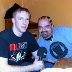 Hannes im Interview mit Michael Klink von Kanal C