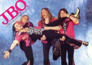 J.B.O. früher: Hannes, Schmitti, Vito C. und Holmer