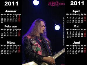 Wallpaper: Halbjahres-Kalender