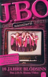 Cover: 10 Jahre Blödsinn - Das J.B.O. Homevideo