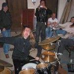 Schlagzeug-Party
