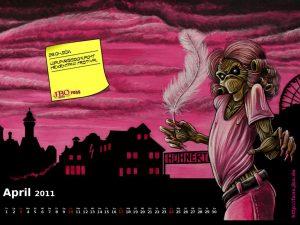Killeralbum-Kalender-Wallpaper: April 2011
