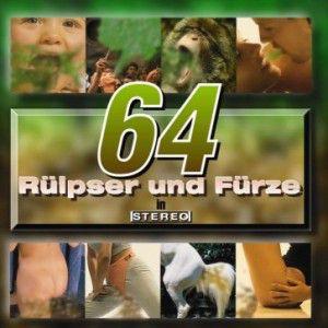Cover: 64 Rülpser und Fürze in Stereo