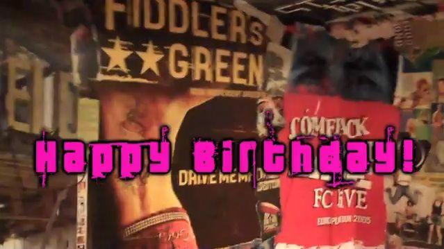Happy Birthday Fiddler's Green!