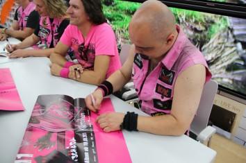 Fotos: Autogrammstunde Saturn Fürth 20.08.2011