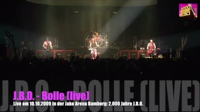Bolle – Live in der Jako Arena (2.000 Jahre J.B.O.)