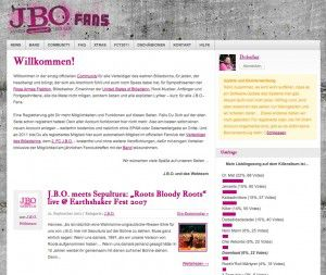 J.B.O. Fans: Software-Update und die Bannerwerbung