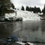 Rückfahrt aus Murg: Winter im Schwarzwald - Foto: Vito C.