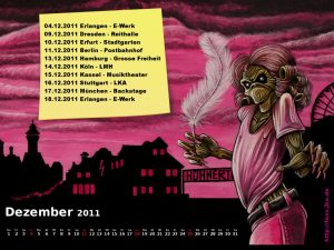 Wallpaper: Killerkalender Dezember 2011