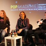 Vito C., Wolfram Kellner, Prof. Stefan Weinacht - Foto: Max Micus/Popakademie Mannheim
