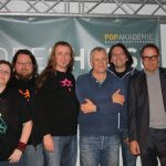 Andrea Jaeckel-Dobschat, Carsten Dobschat, Vito C., Prof. Wandjo, Wolfram Kellner, Prof. Dahmen - Foto: Max Micus/Popakademie Mannheim