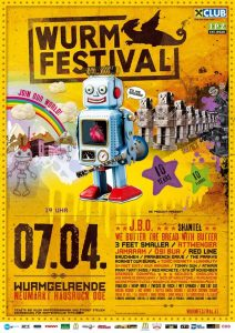 Wurmfestival: 2×2 Tickets zu gewinnen