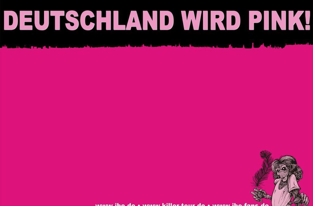 Wallpaper: Deutschland wird pink!