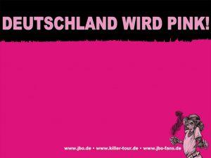 Wallpaper zur Killer Tour 2012: Deutschland wird pink!