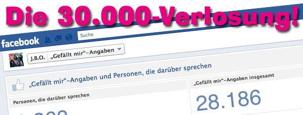 Die 30.000-Verlosung!