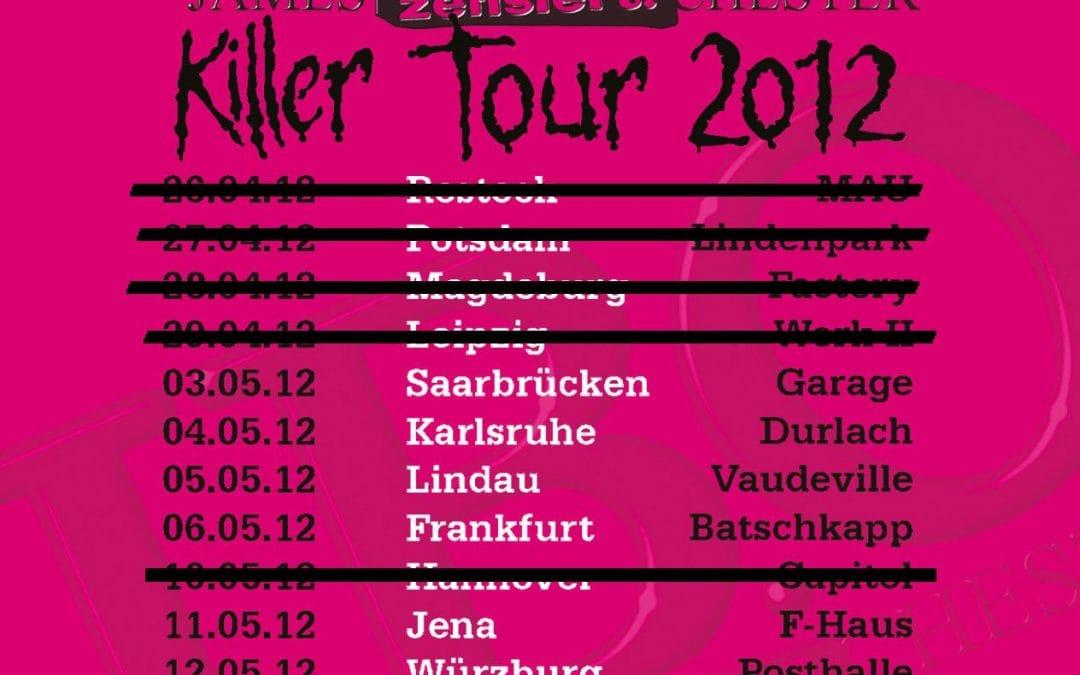 Konzert in Hannover abgesagt :(