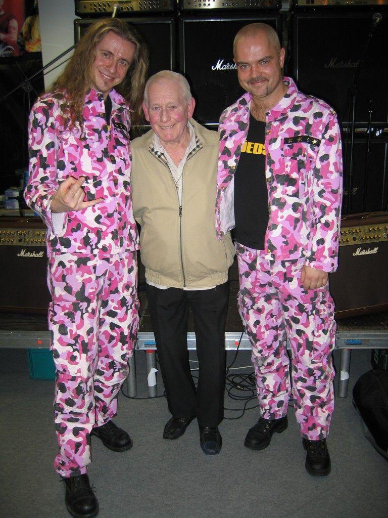 München 2005: Vito C., Jim Marshall, Hannes Holzmann