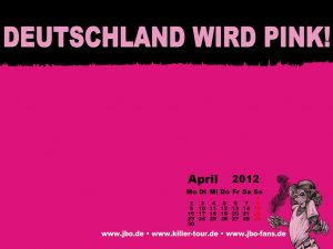 Wallpaper-Kalender April 2012