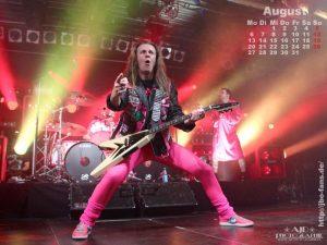 Wallpaper: Kalender August 2012 (Vito C.)