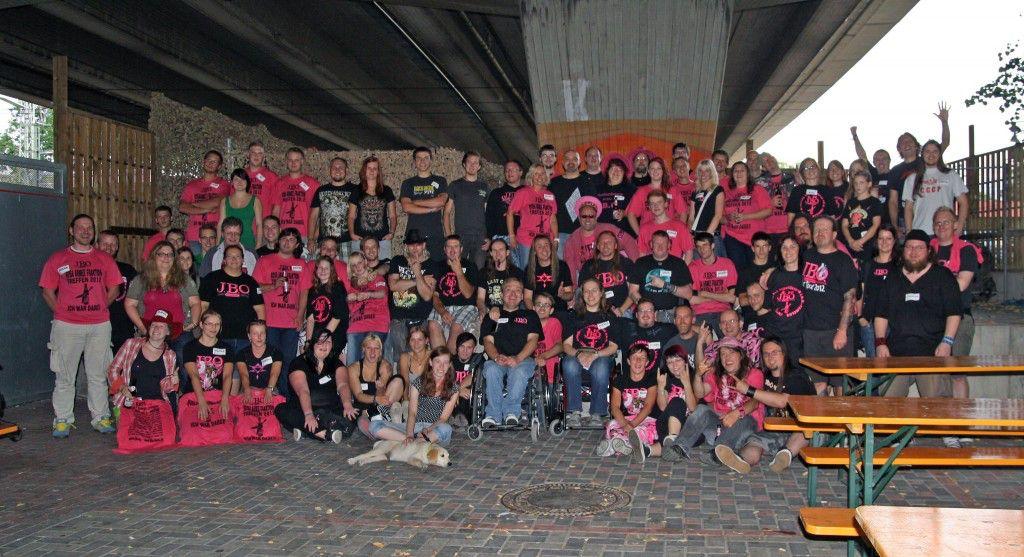 Fanclubtreffen/Rosa Armee Fraktion Treffen 2012 - Gruppenfoto von Sabrina