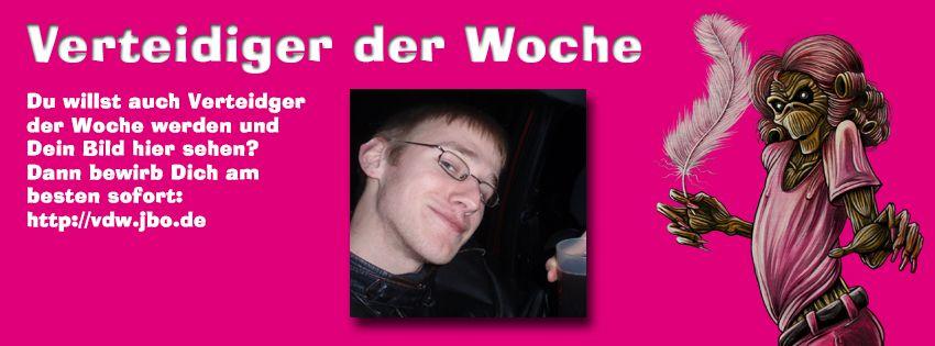 Verteidiger der Woche: Hannes (05.10.2012)