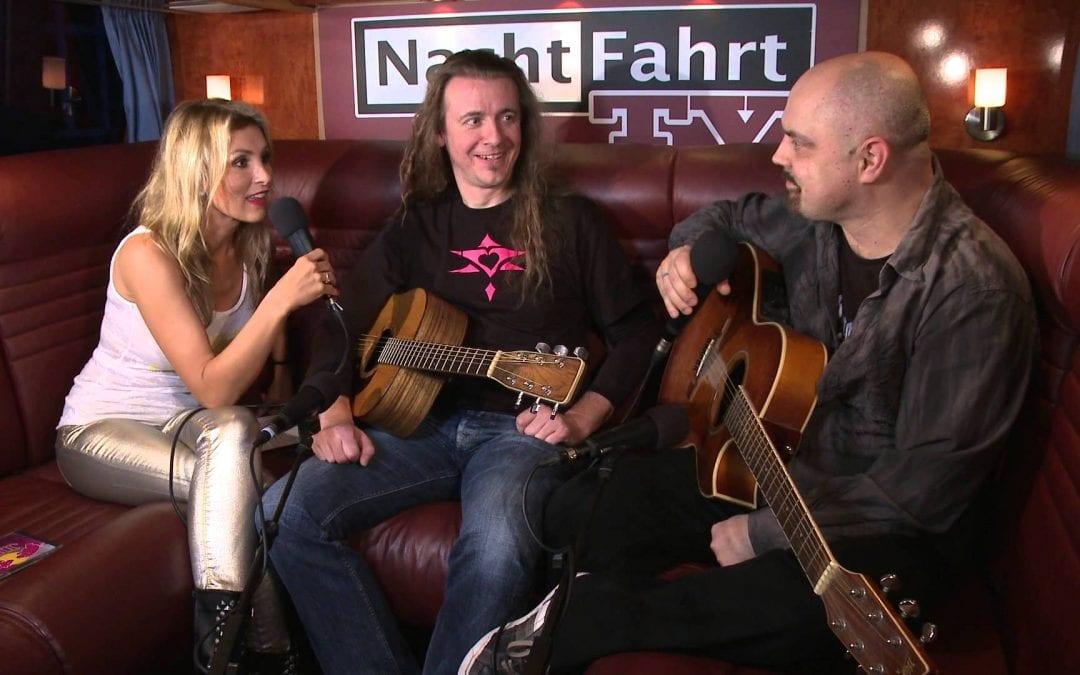 Vito C. und Hannes bei Nachtfahrt TV 2013