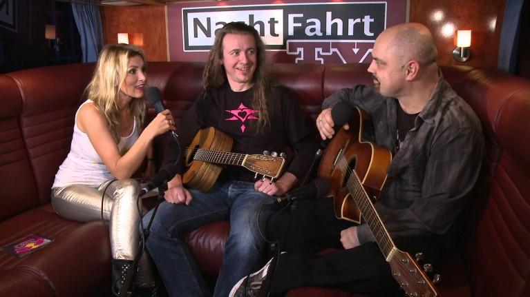 Vito und Hannes bei Nachtfahrt TV 2013