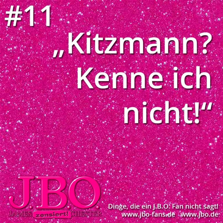 """Dinge, die ein J.B.O. Fan nicht sagt #11: """"Kitzmann? Kenne ich nicht!"""""""