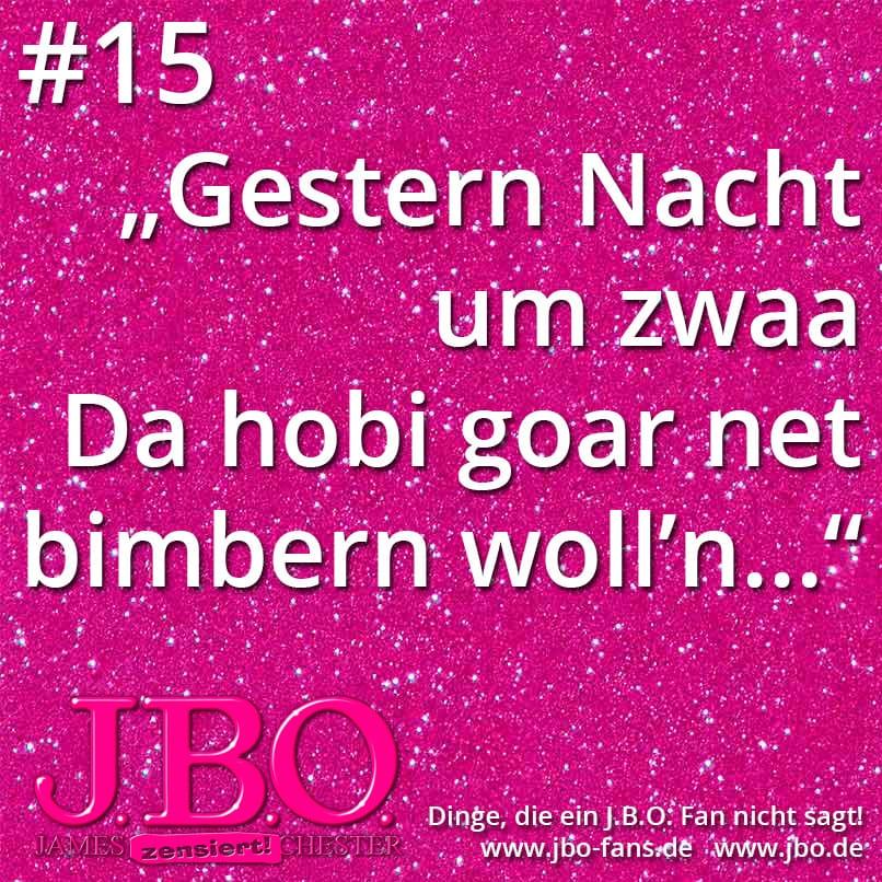 Dinge, die ein J.B.O. Fan nicht sagt #15-22