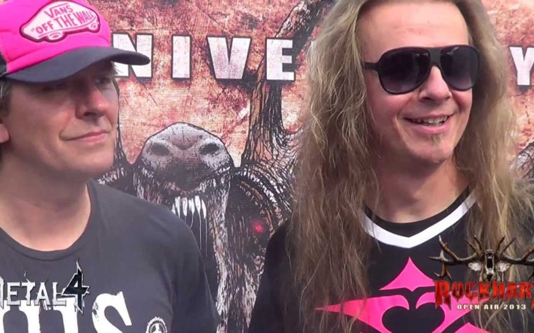 Metal4 Interview beim Rockharz