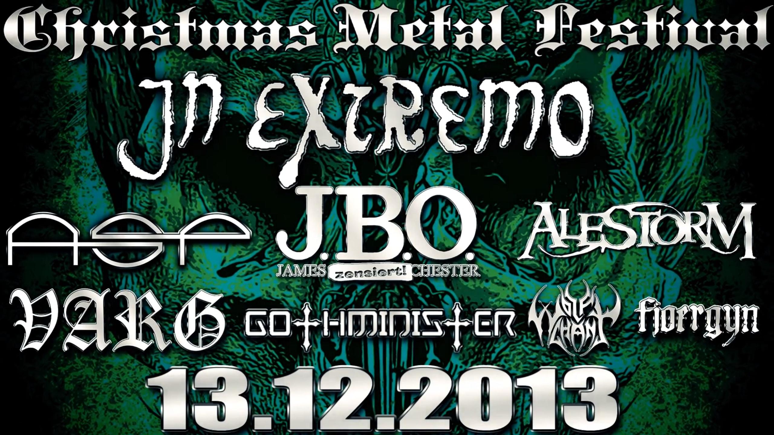 Christmas Metal Festival – besinnlich geht anders!