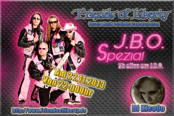 Webradio: J.B.O. Spezial am 22.11.