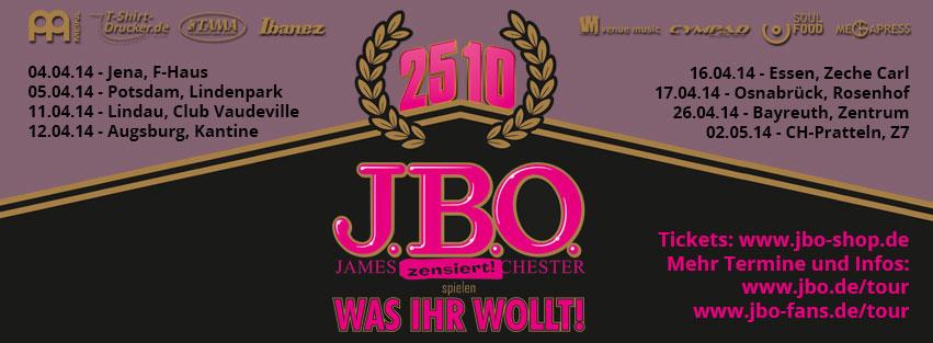 J.B.O. spielen was Ihr wollt in Potsdam