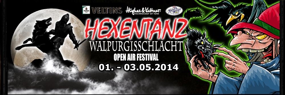 J.B.O. @ Hexentanz/Walpurgisschlacht 2014 in Losheim