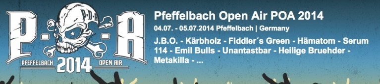 Pfeffelbach Open Air 2014