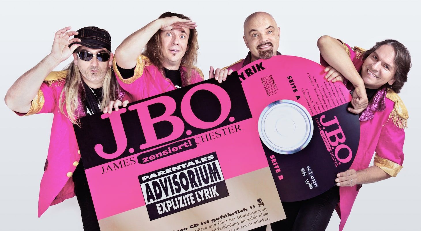J.B.O. – 20 Jahre Explizite Lyrik: 28.03.2016 – Saarbrücken, Garage