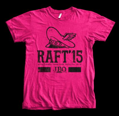 RAFT18: Das Shirt-Motiv ist da!