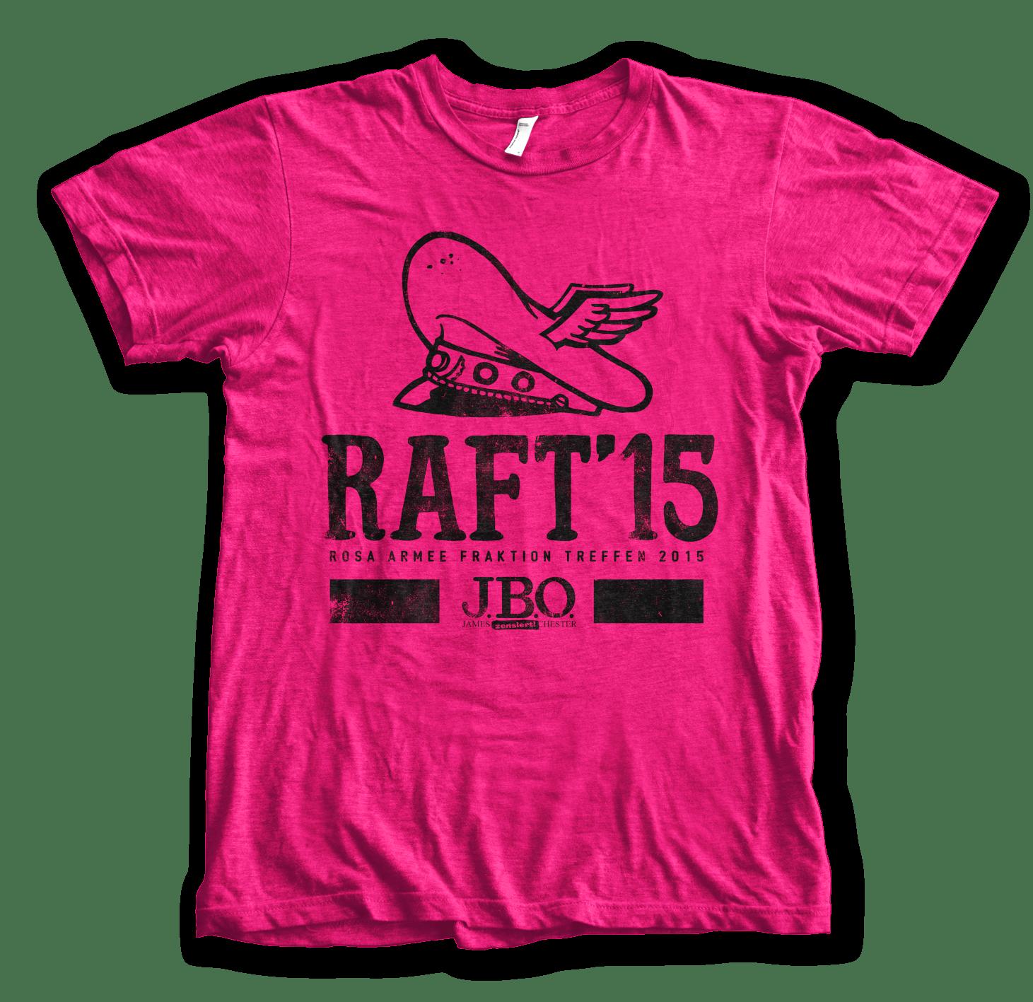 RAFT15 – Anmeldung und Shirtbestellung