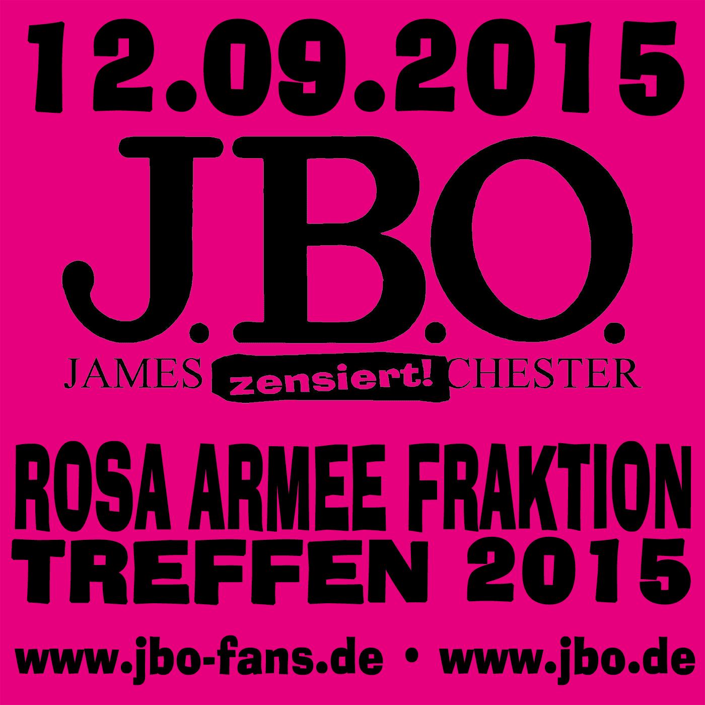 Rosa Armee Fraktion Treffen 2015: 12.09.2015 – Erlangen, Omega