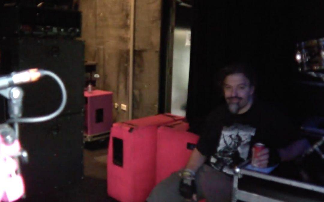Point of Ingo: Tourleiter-Rundgang während dem Soundcheck