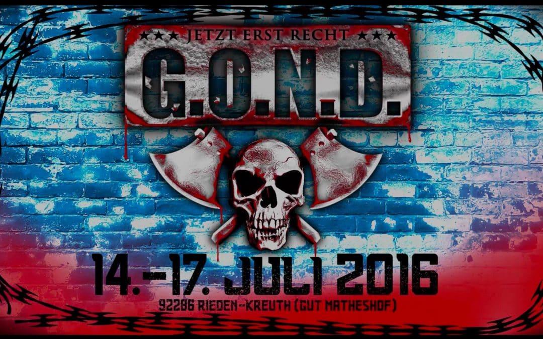 J.B.O. live: 14.07.2016 – Rieden-Kreuth, G.O.N.D.
