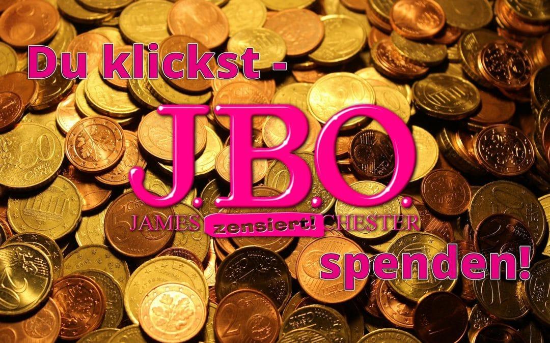 Du klickst – J.B.O. spenden!