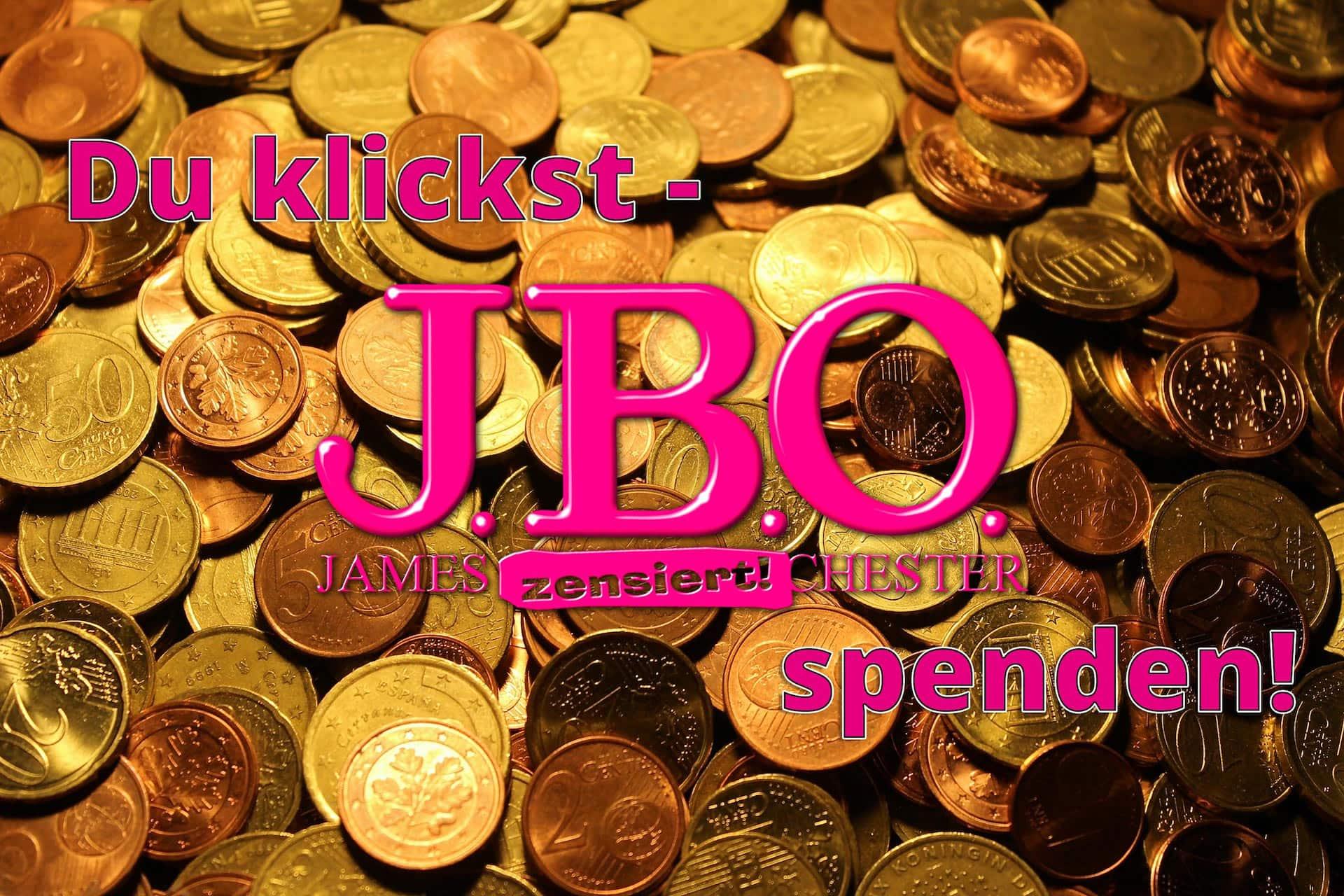 Du klickst - J.B.O. spenden!