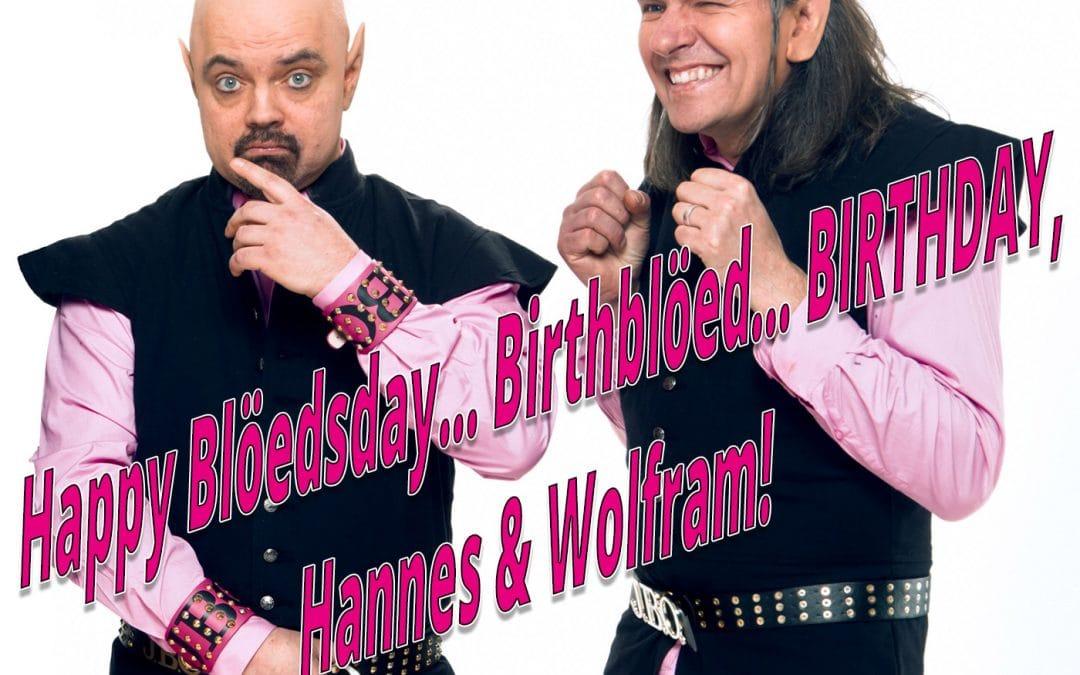 Happy Blöeddings… Birthblöed… Blöedsday… Birthday!