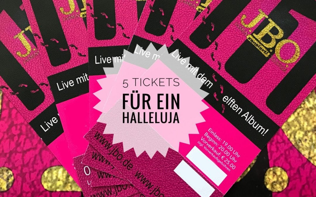 """Morgen im Ultrastore: """"Fünf Tickets für ein Halleluja"""""""