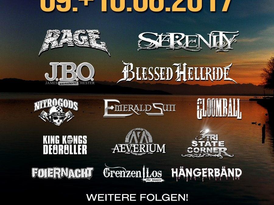 J.B.O. live: 10.06.2017 – Starnberg, Food Rock (Abgesagt!)
