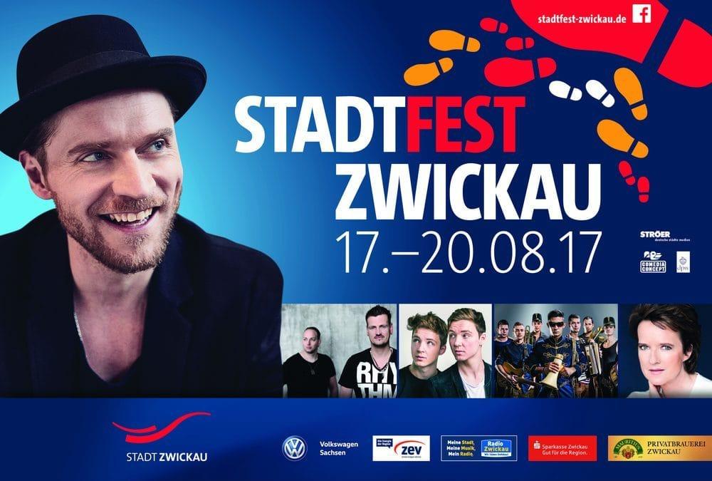 Festivals 2017: 18.08.2017 – Zwickau, Stadtfest Zwickau