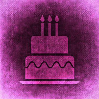 Abbildung Geburtstagstorte