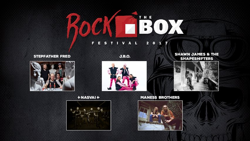 Frischer Termin: Rock the Box